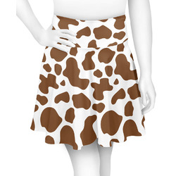Cow Print Skater Skirt (Personalized)
