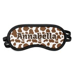 Cow Print Sleeping Eye Mask (Personalized)