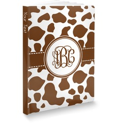 Cow Print Softbound Notebook (Personalized)