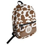 Cow Print Student Backpack (Personalized)