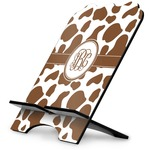 Cow Print Stylized Tablet Stand (Personalized)