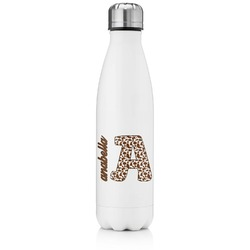 Cow Print Tapered Water Bottle - 17 oz. - Stainless Steel (Personalized)