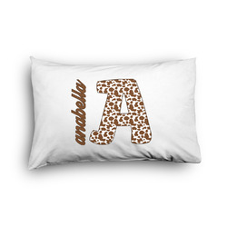 Cow Print Pillow Case - Toddler - Graphic (Personalized)