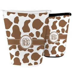 Cow Print Waste Basket (Personalized)