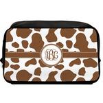 Cow Print Toiletry Bag / Dopp Kit (Personalized)