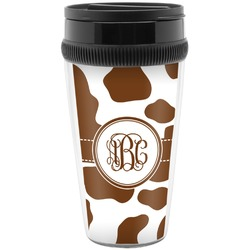 Cow Print Travel Mug (Personalized)