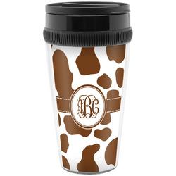 Cow Print Travel Mug (Personalized)