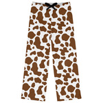 Cow Print Womens Pajama Pants (Personalized)