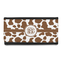 Cow Print Leatherette Ladies Wallet (Personalized)