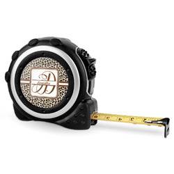 Leopard Print Tape Measure - 16 Ft (Personalized)