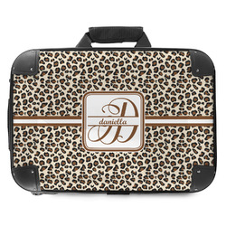 Leopard Print Hard Shell Briefcase (Personalized)