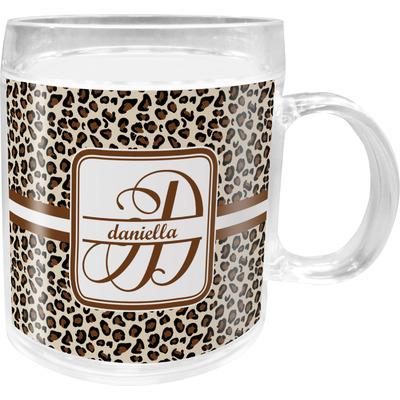 Leopard Print Acrylic Kids Mug (Personalized)