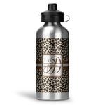 Leopard Print Water Bottle - Aluminum - 20 oz (Personalized)