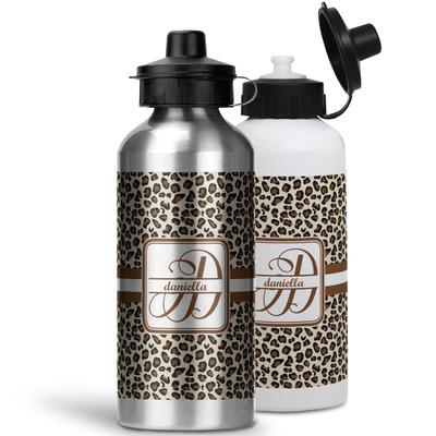 Leopard Print Water Bottles- Aluminum (Personalized)