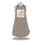 Leopard Print Apron w/ Name and Initial