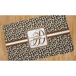Leopard Print Area Rug (Personalized)