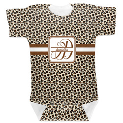 Leopard Print Baby Bodysuit (Personalized)
