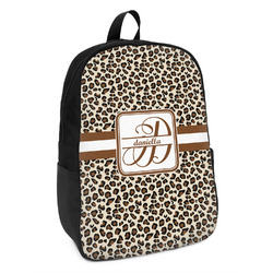Leopard Print Kids Backpack (Personalized)