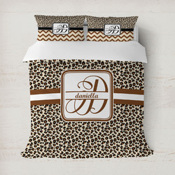 Leopard Print Duvet Cover (Personalized)