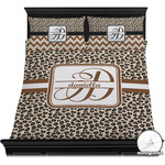 Leopard Print Duvet Cover Set (Personalized)
