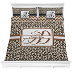 Leopard Print Comforter Set (Personalized)