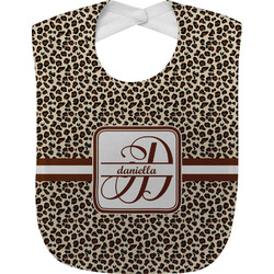 Leopard Print Baby Bib (Personalized)