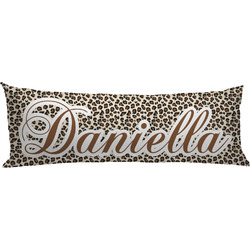 Leopard Print Body Pillow Case (Personalized)