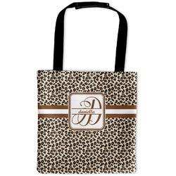 Leopard Print Auto Back Seat Organizer Bag (Personalized)
