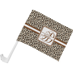 Leopard Print Car Flag (Personalized)