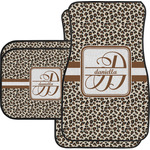 Leopard Print Car Floor Mats (Personalized)