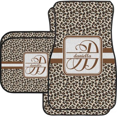 Leopard Print Car Floor Mats (Personalized)