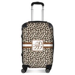 Leopard Print Suitcase (Personalized)
