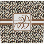 Leopard Print Ceramic Tile Hot Pad (Personalized)