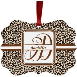 Leopard Print Ornament (Personalized)