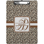 Leopard Print Clipboard (Personalized)