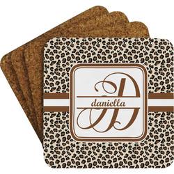 Leopard Print Coaster Set (Personalized)