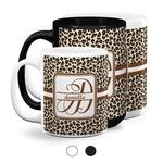 Leopard Print Coffee Mugs (Personalized)