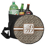 Leopard Print Collapsible Cooler & Seat (Personalized)