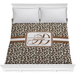 Leopard Print Comforter (Personalized)