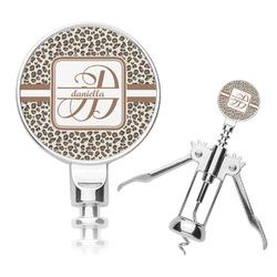 Leopard Print Corkscrew (Personalized)