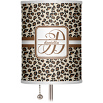"Leopard Print 7"" Drum Lamp Shade (Personalized)"