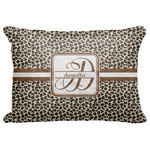 "Leopard Print Decorative Baby Pillowcase - 16""x12"" (Personalized)"