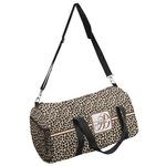 Leopard Print Duffel Bag (Personalized)