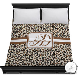 Leopard Print Duvet Cover (Personalized)