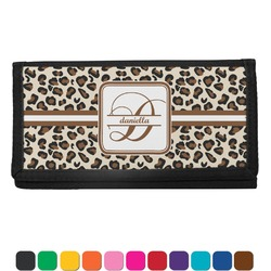Leopard Print Checkbook Cover (Personalized)