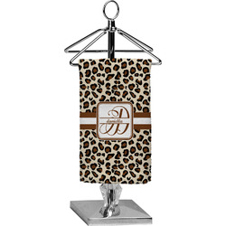 Leopard Print Finger Tip Towel - Full Print (Personalized)