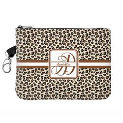 Leopard Print Golf Accessories Bag (Personalized)