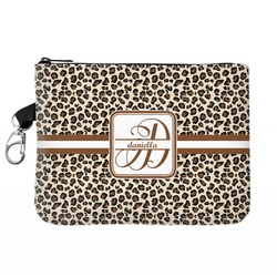 Leopard Print Golf Accessories Bag (Personalized)