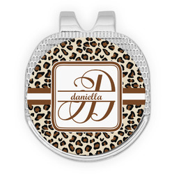 Leopard Print Golf Ball Marker - Hat Clip