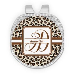 Leopard Print Golf Ball Marker - Hat Clip